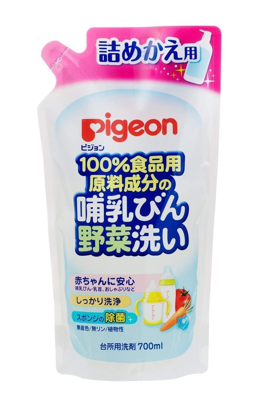 PIGEON 貝親 - Pigeon 濃縮奶瓶蔬果洗潔液 補充裝 700ml