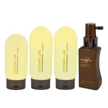 Prohair Lab Intensive Revitalizing Package (Shampoo x2 + Conditionerx 1) + Hair Revitalizing Solution