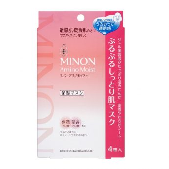 MINON - 氨基酸保濕面膜 4枚