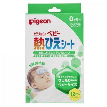 PIGEON 貝親 - 嬰兒退熱冷卻貼 2片 x 6包