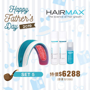 Father's Day Set 5 - HairMax®Laserband 82 + 防脫生髮洗護套裝 + 毛囊激活素