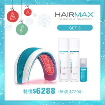 【聖誕優惠】HairMax®防脫生髮洗護套裝+毛囊激活素+Laserband 82激光增髮儀