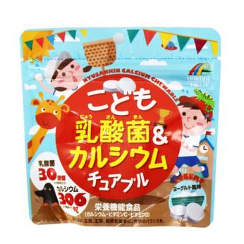 UNIMAT RIKEN - 兒童乳酸菌&鈣糖(乳酪味) 90g