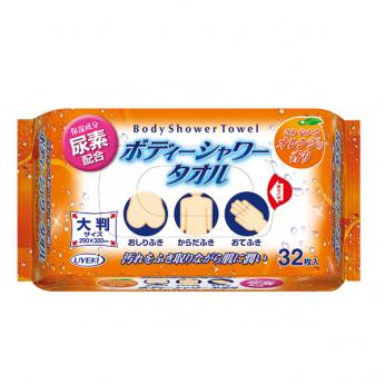 UYEKI 保濕沐浴濕紙巾 (32片裝)